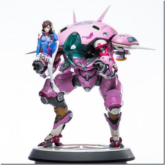 Nerf This! A Statue Of Overwatch's D.Va Is Now Up For Preorder On Blizzard's Store