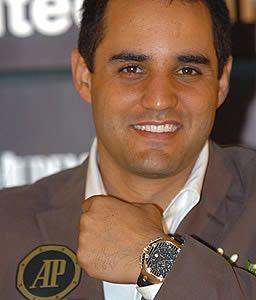 Juan Pablo Montoya Columbian Nascar Racing Driver and former Forumla 1 Racing Driver