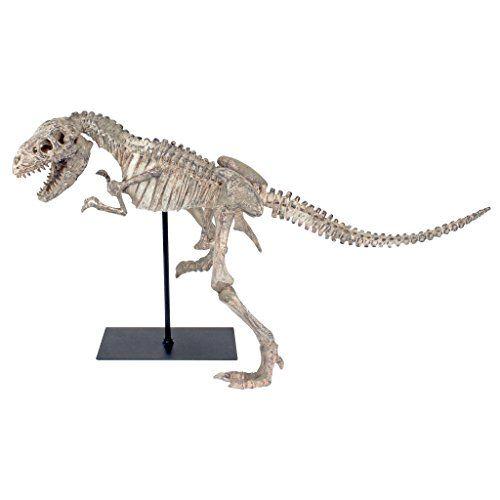 Design Toscano Scaled Tyrannosaurus Rex Skeleton Statue