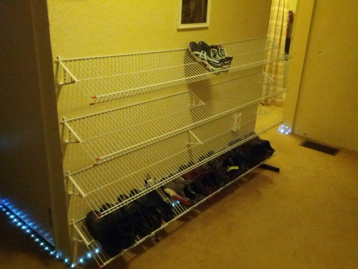 Funky Wall Shoe Rack Ideas Adornment - All About Wallart ...