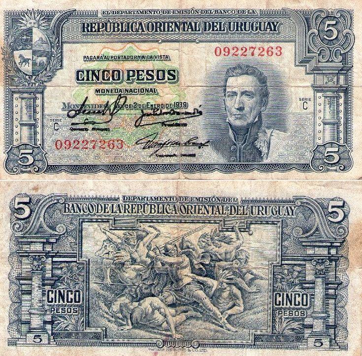 Banknote World Educational > Uruguay > Uruguay 500 Pesos