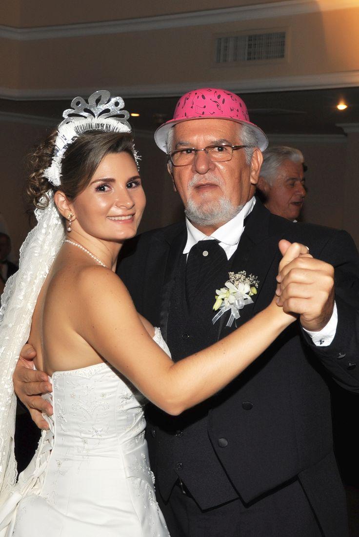 Boda de Ana María con su padre. #FotografosDeBodasCali