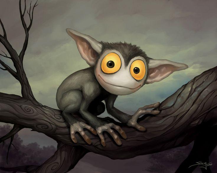 Рисунки смешных существ