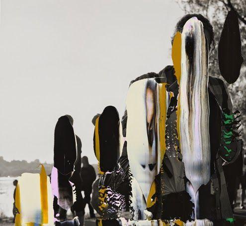 NANNA HANNINEN, PEOPLE III 2012: digital print.