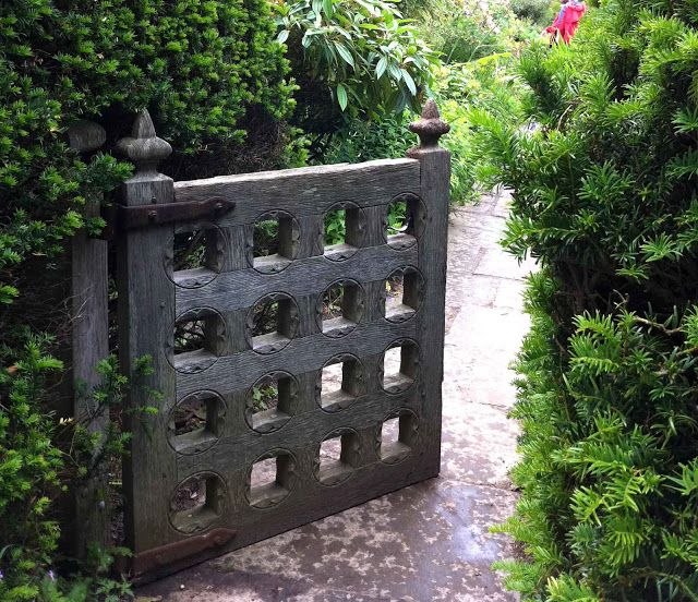Write them on the doorposts of your house and on your gate. Beautiful gate.