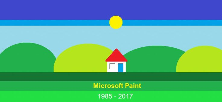 Microsoft are discontinuing paint from their latest windows 10 update.