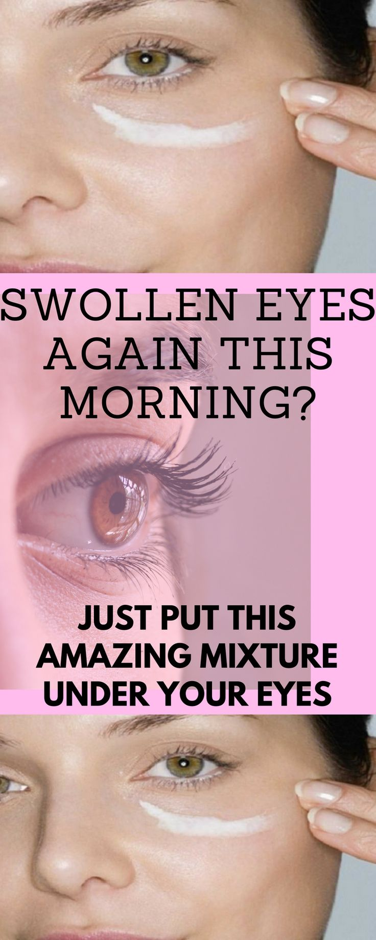 Put This Amazing Mixture Under Your Eyes