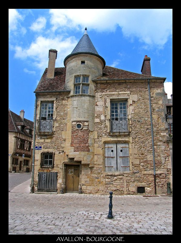 Avallon, Bourgogne_ Central France