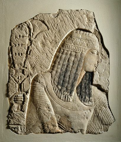 ca. 1292-1150 B.C. --- New Kingdom Relief of a Nobleman --- Image by © Brooklyn Museum of Art/CORBIS