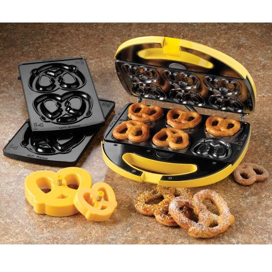 Soft Pretzel Factory. Make your own soft pretzels at home.  Great gift idea