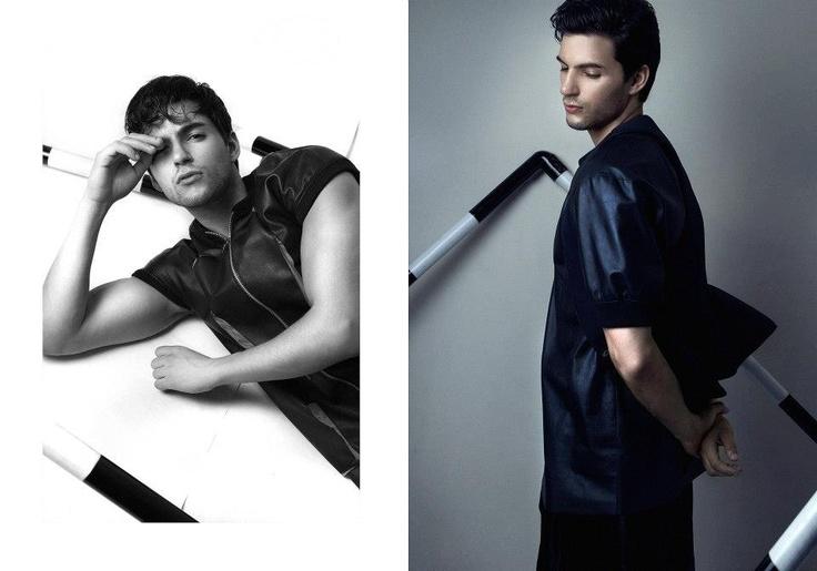 """THE OTHER SIDE""  ph: Mario Ardi  stylist: willy  model: Kevin at Image management  mua: andy chun chun  wardrobe: Priyo Oktaviano  di artist: Moses"