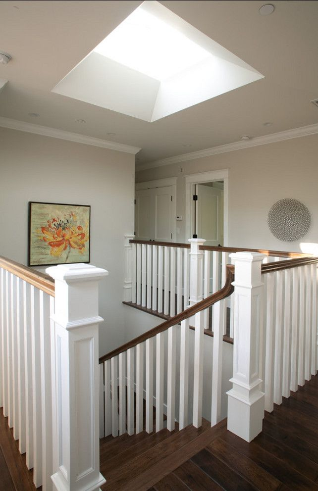 116 best images about stairs railing on pinterest basement staircase stairs and hardwood stairs - Skylight house plans natural light ...