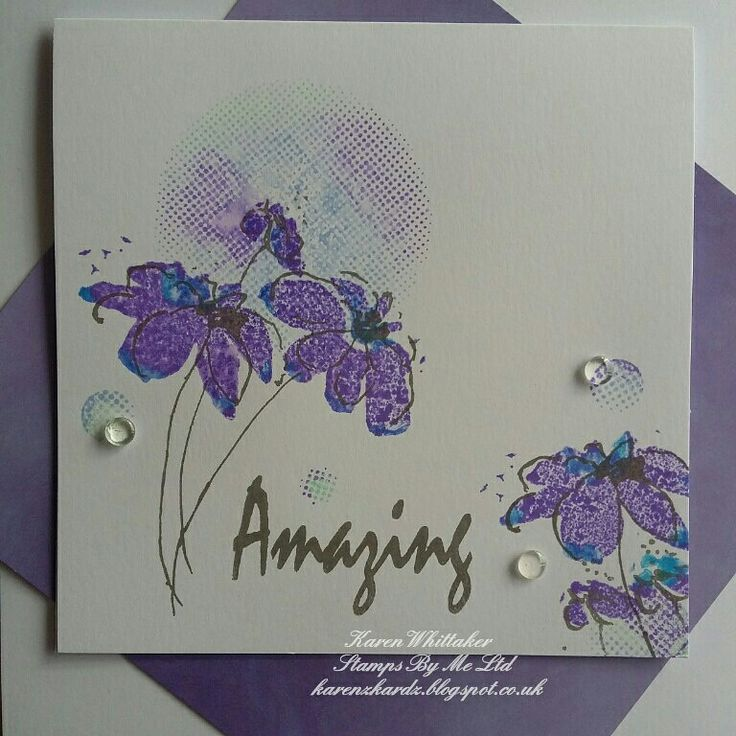 Amazing Daisy lamination stamp by Stamps By Me  #stampsbyme #dtsample #Amazingdaisy #lamination #flowers #distressinks #stamps #stamping #card #creative #craft #ilovetocraft #creativity #karenzkardz
