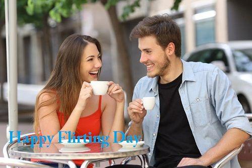Flirting Day Smart Whatsapp Status DP