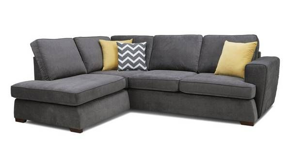 Tryst Right Hand Facing Arm Open End Corner Sofa Corner Sofa Bed Corner Sofa 2 Seater Corner Sofa
