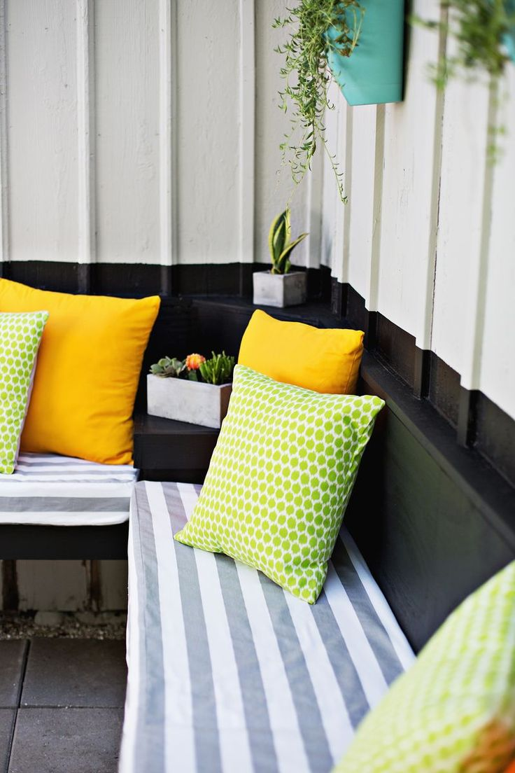 Patio furniture cushions 22 inches round free home design ideas - Outdoor Pillows 3 Ways Envelope Pillow Diy