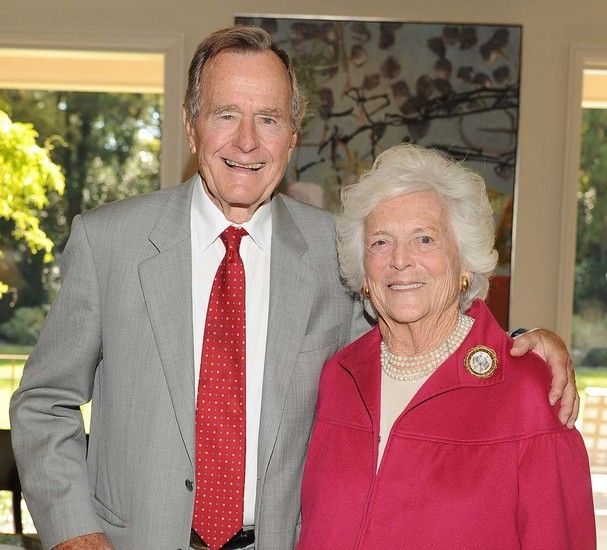 letters from george h w bush to barbara bush | President George H.W. Bush and Mrs. Barbara Bush