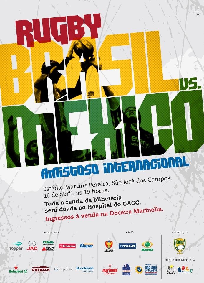 Brazil vs Mexico Rugby International