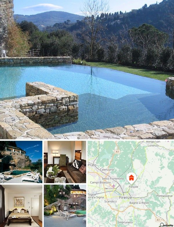 The exclusive suites at this resort are just 6 km from the centre of Florence in a splendid hilly region, easily accessible by car. The resort is near to many typical Tuscan attractions and in just minutes guests can reach the historical centre of the capital of the Italian Renaissance, a charming city, rich in museums, works of art and interesting places. The Santa Maria Novella railway station is some 4 km from the resort and access to public transport is on the hotel's doorstep…