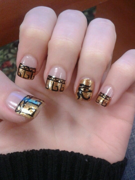 Egyptian Nail Art Design The Best Inspiration For Design And Color