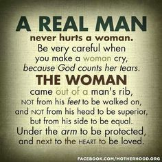 The Man Knows Value Of Woman Real A A