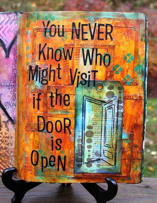 Open the Door (by Marjie Kemper)                                                                                                                                                                                 More