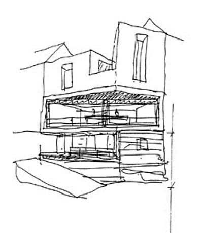 Architectural Drawings Of Modern Houses 270 best modern architecture sketches images on pinterest