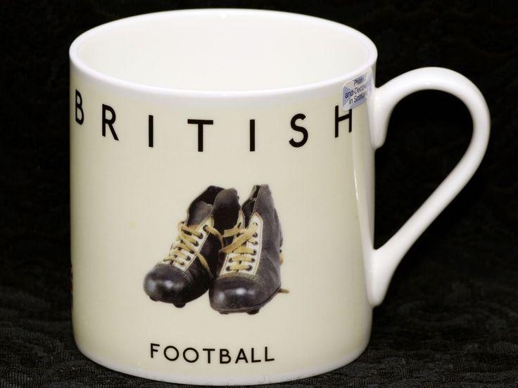 RODERICK FIELD BEST OF BRITISH (FOOTBALL) Bone China Cylinder Mug