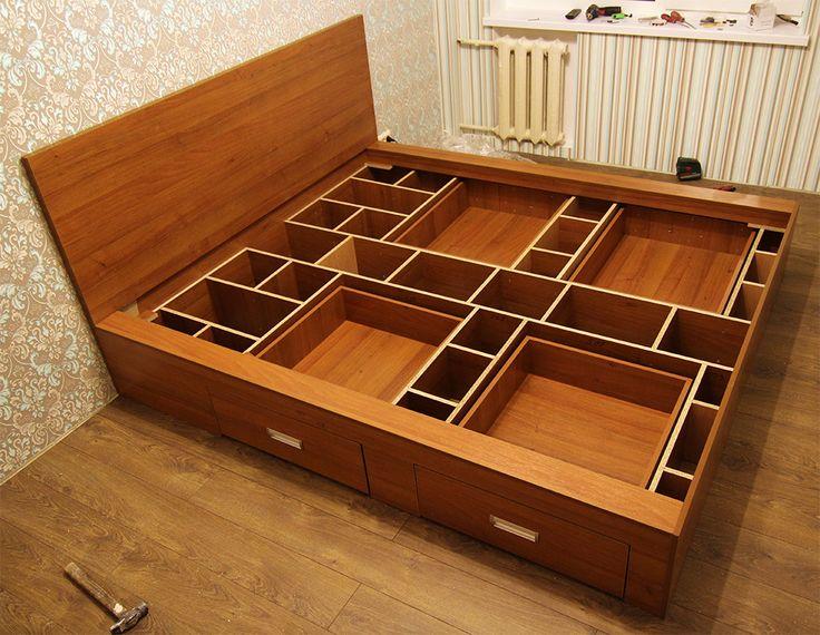 Кровать каркас с ящиком