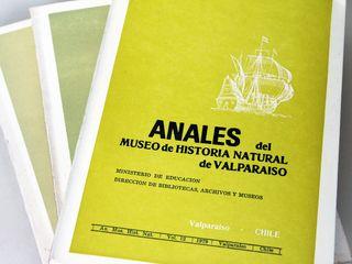 Anales del Museo de Historia Natural de Valparaíso Vol. 1 - 1968 Autor: Museo de Historia Natural de Valparaíso Editorial: Museo de Historia Natural de Valparaíso Año: 1968