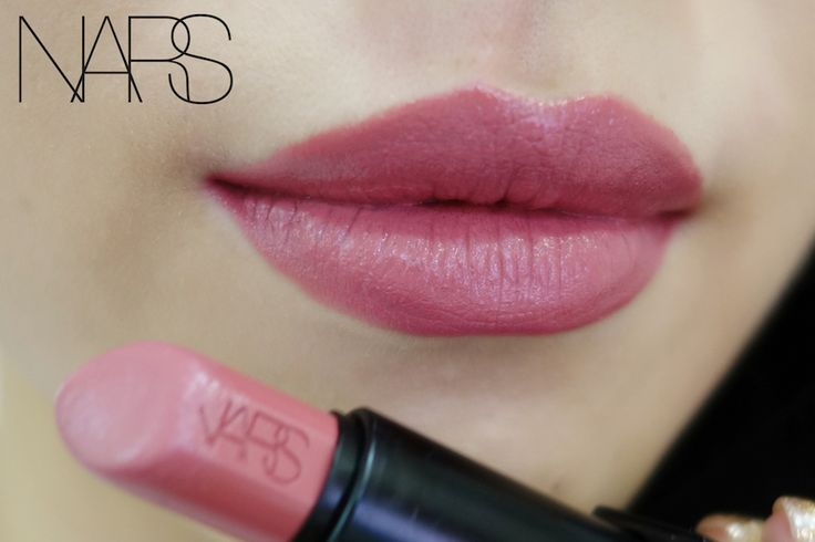 NARS Audacious Lipstick in Anita. The perfect color!