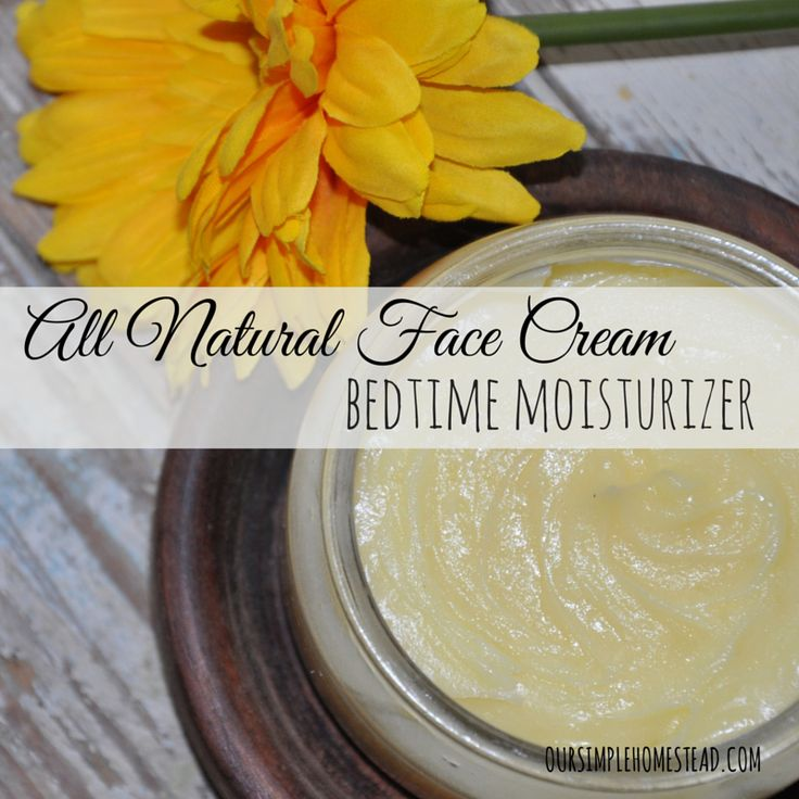 All Natural Face Cream - Bedtime Moisturizer - I have to admit that as I get older I spend too much time looking in the mirror checking for wrinkles!  I know it is a bit vain on my part, but I spend so much time outside and in the weather, I want to make sure I am taking care of my skin as best as I can. #facecream