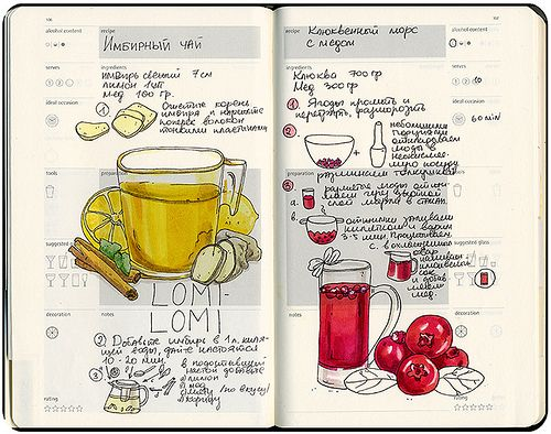 14 best drawn recipes images on pinterest recipe journal eating recipe journal on behance forumfinder Gallery