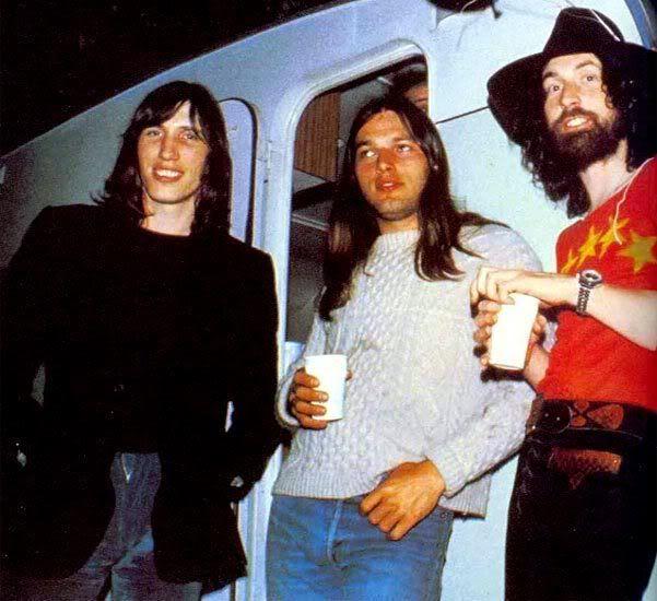 Roger Waters, David Gilmour e Nick Mason