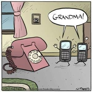 .Maybe great-great grandma....