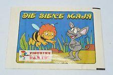 Pochettes Bustina Vignettes Autocollants Panini Maya l'abeille