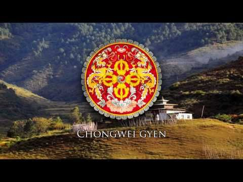 "(ITALY)National Anthem of Bhutan - ""Druk Tsendhen"" (""འབྲུག་ཙན་དན་"") - Tuberov"