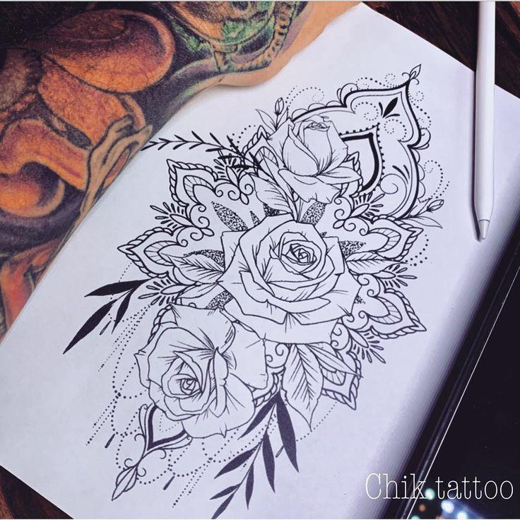 Das Bild kann enthalten: Zeichnung #Tattoos