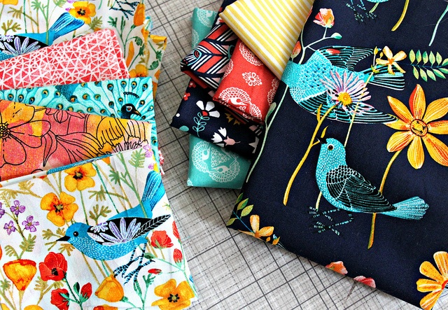 For Pillow Making -- Alegria and other Cloud9 Fabrics