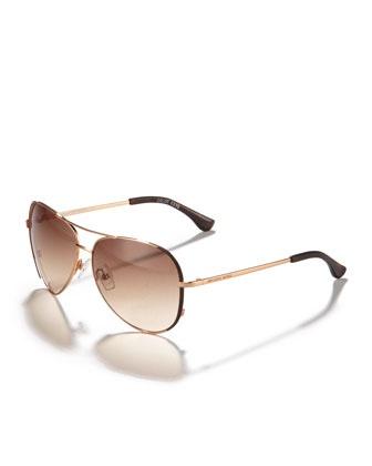 Michael Kors Sunglasses - Aviator. Damn...here I go again. Got me those for the summer