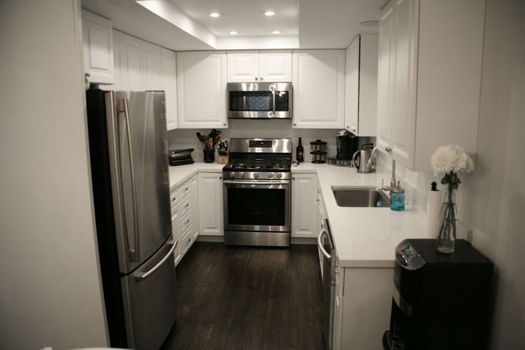 17 best images about diy entire home renovation on for All white kitchens with wood floors
