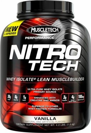 MuscleTech Nitro-Tech Performance Pro Hardcore Best Whey Protein Isolate