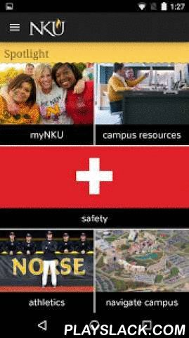 Northern Kentucky University  Android App - playslack.com ,  Northern Kentucky University (formerly iNKU) is your portal to the Northern Kentucky University campus. Find your way around campus, check your course schedules and grades, find your academic advisor, and find the nearest NKU shuttle stop! Features:· Use your GPS to help find your way around campus· Keep up to date with campus news via NKU RSS feeds· Listen to campus radio stations WNKU and Norse Code Radio· Keep in touch via NKU…