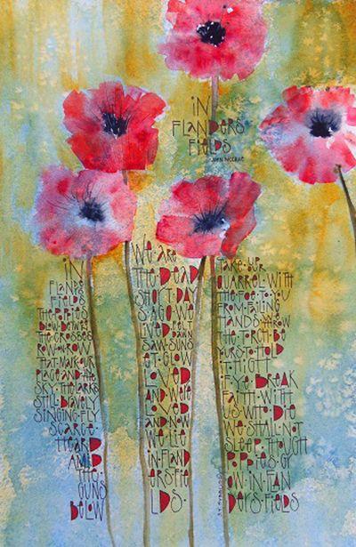 In Flanders Field by Sally Towers-Sybblis