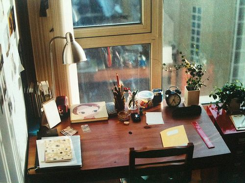#decor #desk #window