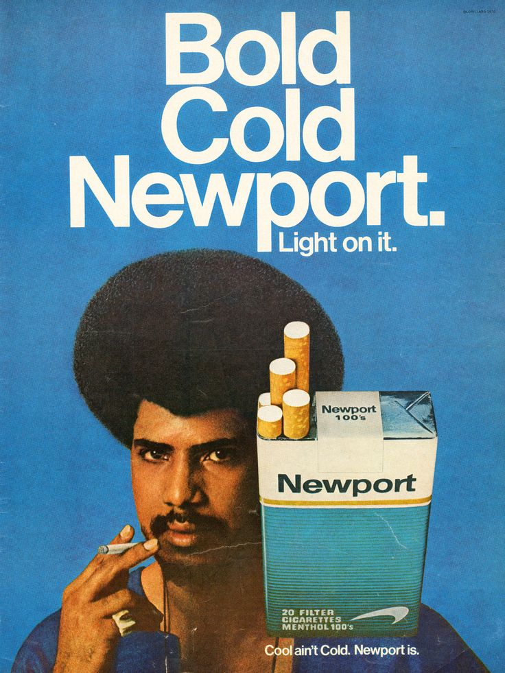 In two years, Newport's became the fifth most popular cigarette on the market. Description from cleonette.wordpress.com. I searched for this on bing.com/images