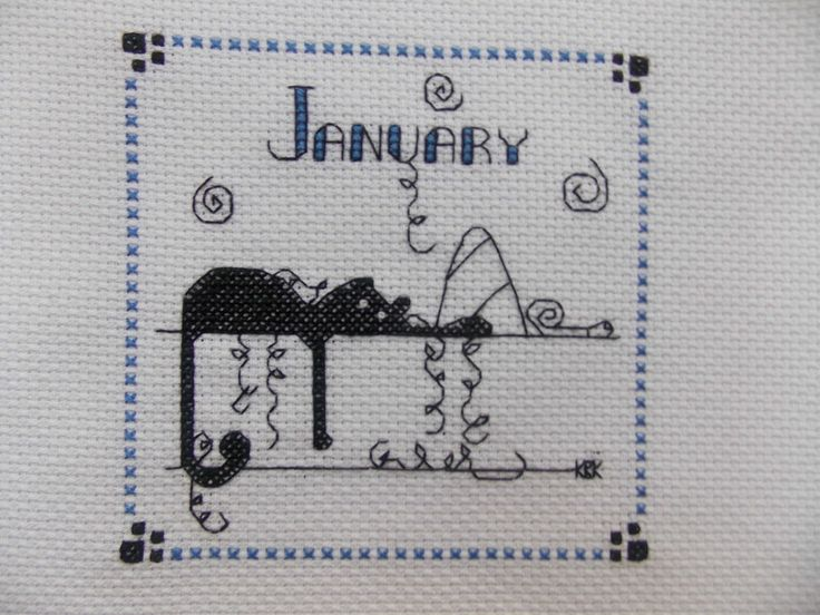 Best cross stitch months seasons images on