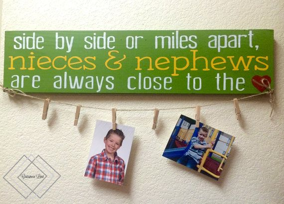READY TO SHIP: Side By Side Or Miles Apart Nieces by GrassmereLane
