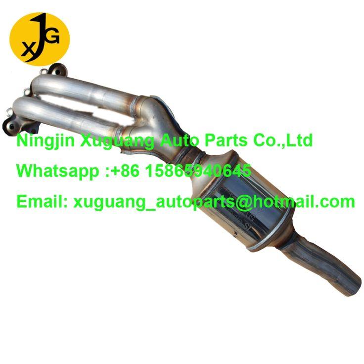 2007 volkswagen jetta catalytic converter from xuguang autoparts www.xg-autoparts.com exhaust muffler and catalytic converter manufacturer from China