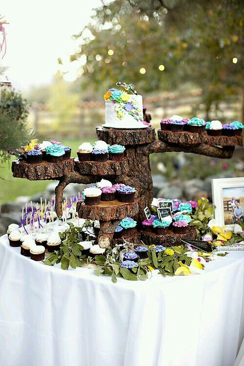 Rústic Mesa de dulces